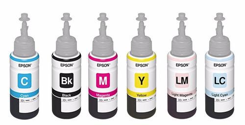 Tinta Epson Para L800 T673120-220-320-420 Epson 3120