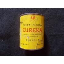 Antigua Tinta Negra Eureka. Lata De 500cm3. Sin Abrir
