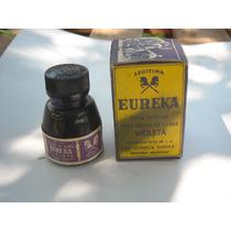 Antigua Tinta Eureka Color Violeta Contenido 25 Cc