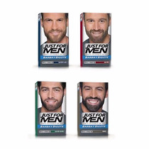 Just For Men Barba Bigote Gel Cubre Canas Castaño Tintura