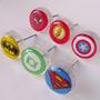 Pack 12 Tiradores/manijas Cajones Superheroes