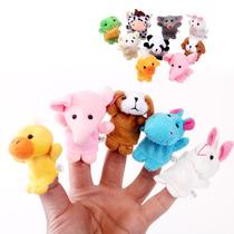 Titeres De Dedo X 10 Unidades - Animalitos Hermosos