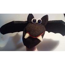 Titeres En Goma Espuma: Murcielagos Brujas Halloween