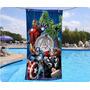 Toallon Playero Avengers Los Vengadores Hulk Piñata Algodón