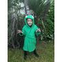 Bata De Toalla De Dinosaurio Talles 6 Y 8