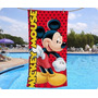 Toallon Playero Mickey Mouse Disney Piñata Algodón
