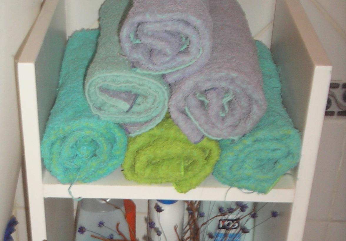 Mueble Baño Amarillo:Toallero De Baño, Organizador De Baño, Mueble Baño, Toallas – $ 350