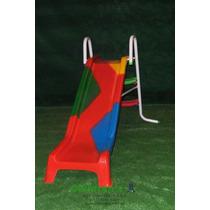 Tobogan Metálico + Fibra De Vidrio - Apto Exterior Childrens