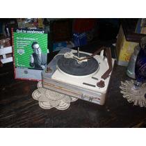 Antiguo Tocadiscos Wincofon Funcionando (3483)