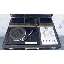 Antigua Radio Tocadisco Portatil Solid State Perfecto Estado