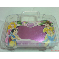 Disney-princesas Maletin En Material Plastico