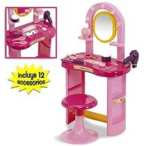 Rondi Fashion Set De Tocador Con Banquito Y Accesorios 3098