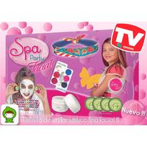 Spa Party Facial Juego Original Mandarina R&m Babies