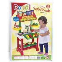 Supermercado Rondi Con 23 Accesorios Y Balanza
