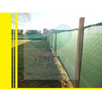 Media Sombra Verde Obra Rollo 2,1x50m Envios Pilar-escobar