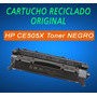 Cartucho Reciclado Original Hp Ce505x / 05x - Con Chip