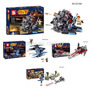 Lego Space Wars Marca Lider Sy309-310-311-312 Stock Disp.