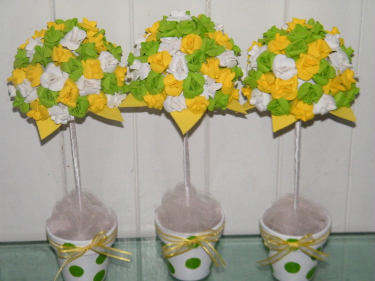 Hacer Flores De Goma Eva Decoracin Del Hogar Prosalocom