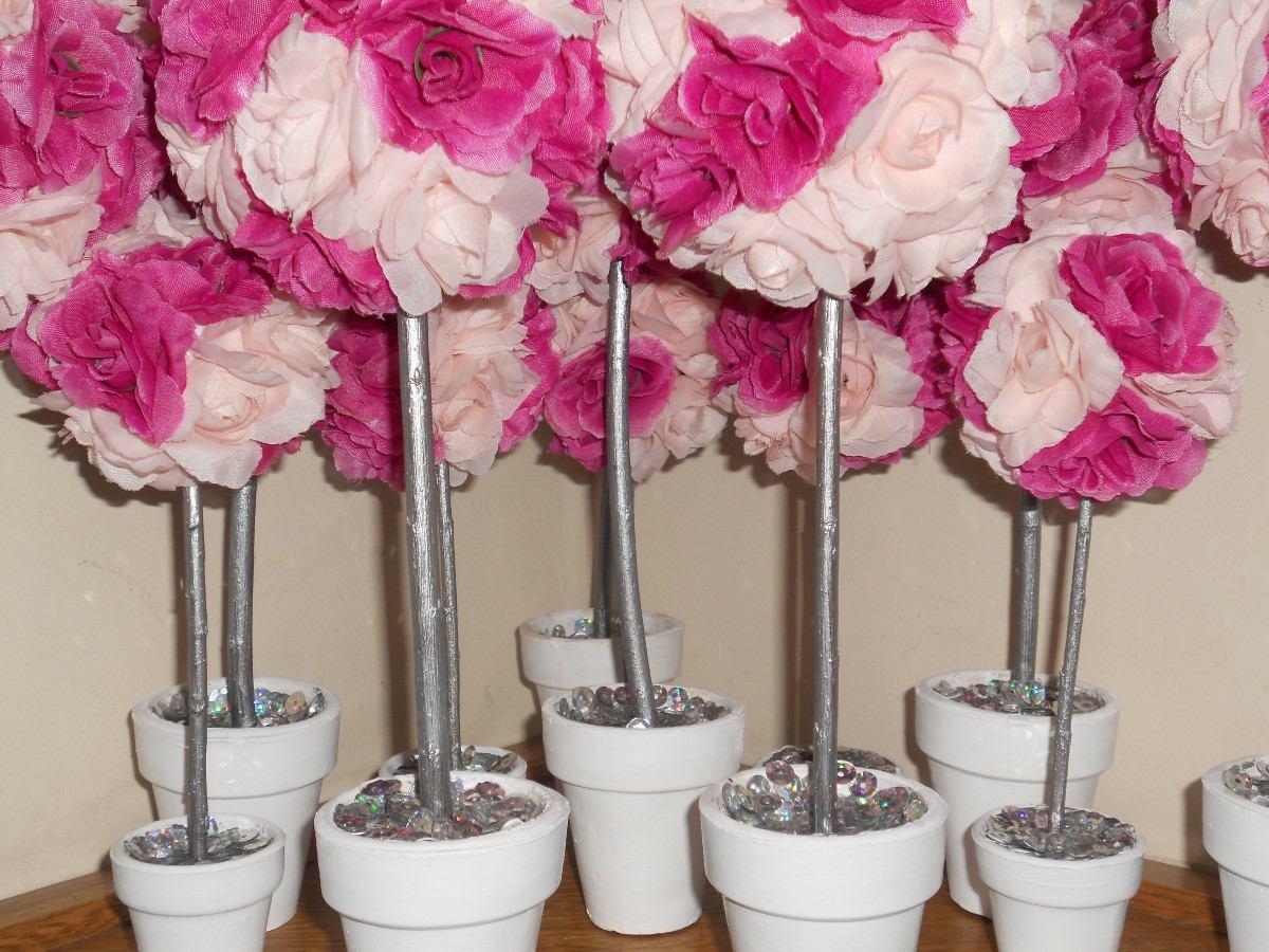 Centro de mesa topiarios car interior design - Centros de mesa con flores ...