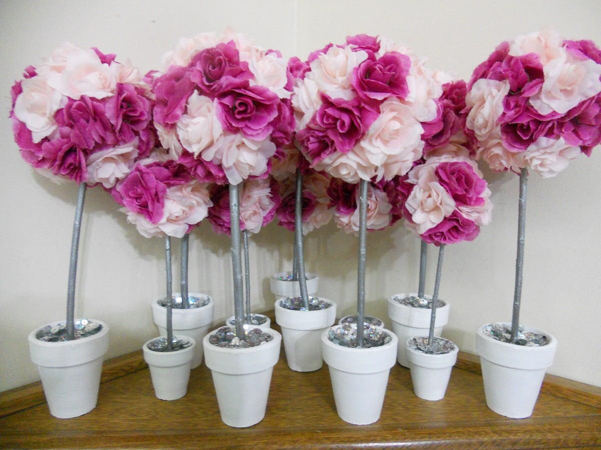 Centros de mesa para grados en flores for Mesa centro