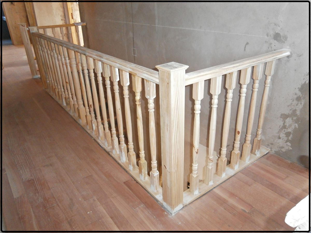Mi casa decoracion barandillas de madera exterior for Barandilla escalera exterior