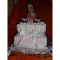 Torta Artesanal Bautismo/cumpleaños Nenas!....muñequita