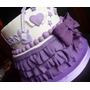 Tortas Decoradas De Violetta, Cupcakes Y Cookies Tambien!!!