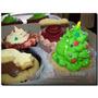 12 Cupcakes Navidad Decorados Cookies 1° Calidad - Envios Mp