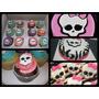 Mesa Dulce Tematica Torta De 2 Kg + 24 Cupcakes Y Vs Combos