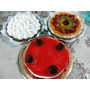 Tartas Dulces Lemon Pie Cheescake, Frutillas,frutal