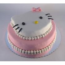Torta Kitty Cumpleaños Infantiles - Personalizadas