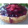 Torta De Cheese Cake Con Frutos Rojos