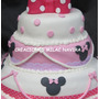 Torta Decorada Minnie Mickey