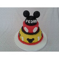 Tortas Decoradas Mickey Mouse Y Minnie,unicas Artesanales.