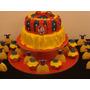 Torta Decorada Blancanieves Cupcake Y Candy
