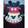 Tortas Mickey, Minnie, Vintage, Bautismo, Cumple Años.