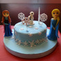 Torta Infantil Decorada Frozen