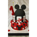 Tortas Decoradas Infantiles,de Mickey X 3kg Decorada Total