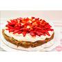 Torta Base De Merengue, Dulce De Leche, Crema Y Frutillas