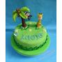 Tortas Decoradas Infantiles Animales Selva Granja Dinosaurio