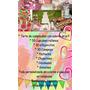 Torta Decorada Infantil+cumple Completo+sin Tac+deco+candy