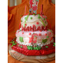 Torta Infantiles Frutillitas ! 50 Personas..