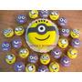 Minions - Mini Torta + 24 Cupcakes Personalizados!