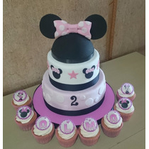 Tortas Decoradas Infantiles Cumpleaños Mickey - Minnie