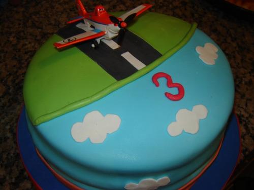 Tortas Decoradas Infantiles - Aviones De Disney