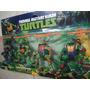 Las Tortugas Ninjas Mutantes Set X 4 Muñecos + Armas