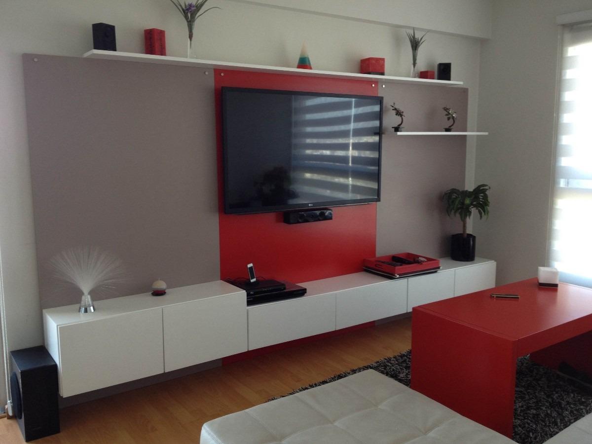 Muebles Tv Led Panel Lcd Led Tv Rack Modular Centro De Moderno  # Muebles Cipriano Lanus