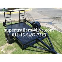 Trailer Piso Bajo,cuatro,moto,supertrailers.