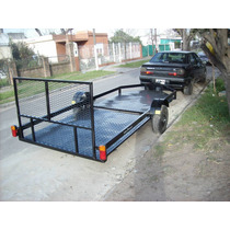 Trailer Doble Super Bajo Excelente Calidad Trailers Facundo