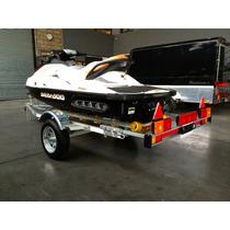 A Trailer Mactrail Moto De Agua Circule Legal Ley 24.449